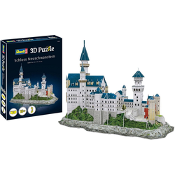 Revell® 3D-Puzzle Schloss Neuschwanstein, 121 Puzzleteile