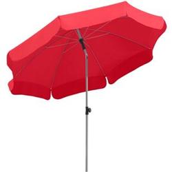 Schneider Sonnenschirm Locarno rot, Ø 200 cm