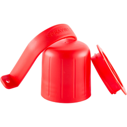 ABENA® SprayWash Tablet Kit Behälter, Farbbehälter für SprayWash Tabs, Farbe: rot