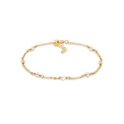Elli Armband Elegant Kristalle 925 Silber, Kristall Armband goldfarben