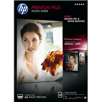 HP Premium Plus High-gloss Photo x 297 mm borderless Druckerpapier