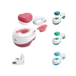 Lorelli Töpfchen Töpfchen Set, WC Transform, 3 in 1 Töpfchen Toilettentrainer Tritthocker rosa