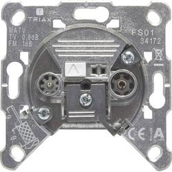 Triax FS 01 Antennendose UKW, TV Unterputz Enddose