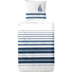Bettwäsche Maritim, Primera, im frischen maritimen Stil weiß 1 St. x 135 cm x 200 cm