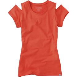 Shirt, Mädchen - orange