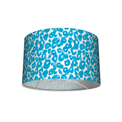 anna wand Lampenschirm Tisch- und Stehleuchten-Lampenschirm Leo-Light türkis/blau 30x20 cm