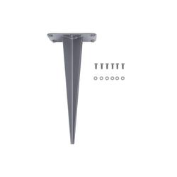SONGMICS Seitenmarkise GSA006 SONGMICS Erdanker für Seitenmarkise, im Garten, Bodenhülse aus Eisen