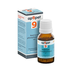 APOPET Schüßler-Salz Nr.9 Natrium phos.D 6 vet. 12 g
