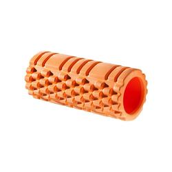 Deuser-Sports Massagerolle Yogarolle Pilatesrolle Faszienrolle Rolle Pilates, ORANGE 33 cm x 13,5 cm