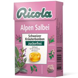 Ricola Alpen Salbei Schweizer Kräuterbonbon zuckerfrei
