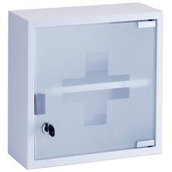 Medizinschrank »Medizin«, Breite 30 cm, Badmöbel, 136406-0 weiß 30 cm weiß