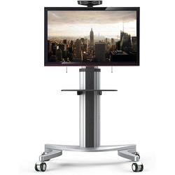 FLEXISPOT P2 TV-Standfuß, (TV Ständer Fernsehtisch Standfuss Standfuß Halterung Für 32-70 Zoll Höhenverstellbar Fernsehstand LED Fernseher Stand Flachbildschirm Aufsatz Möbel Rack VESA 600x400)