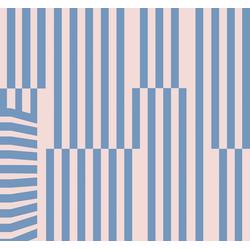 Komar Fototapete Plural, glatt, bedruckt, abstrakt, geometrisch