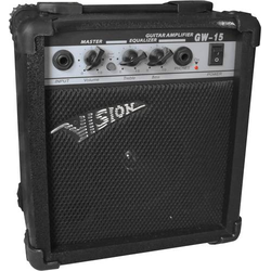 Vision Guitar GW15 E-Gitarrenverstärker Schwarz