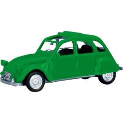 Herpa 020824-005 H0 Citroën 2 CV Faltdach offen, verkehrsgrün