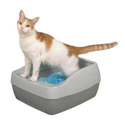 PetSafe Deluxe Katzentoilette mit Kristall- Katzenstreu