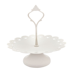Etagere 1-stufig weiss