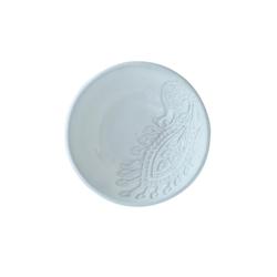 Sthål Schüssel Klein 8 cm Weiß
