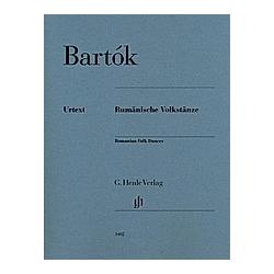 Rumänische Volkstänze  Klavier zu zwei Händen. Béla - Rumänische Volkstänze Bartók  - Buch