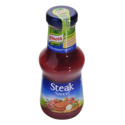 Knorr - Schlemmersauce Steak Sauce, mild würzige Tomatensauce - 250ml