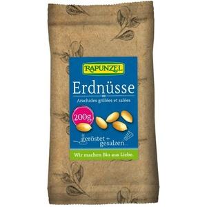 Rapunzel Erdnüsse geröstet  gesalzen bio 200g