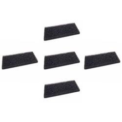 vhbw 5x Schaum-Filter passend für Whirlpool WRE8315 (857500216040) Wäschetrockner