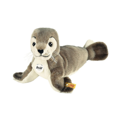 Steiff Kuscheltier Robby Seehund 30 grau/weiss