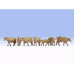 NOCH 15727 H0 Figuren Kühe braun