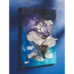 Ciao Bella Seidenpapier Auf Wolken, 30 cm x 21,5 cm