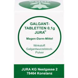 GALGANTTABLETTEN 0,1 g Jura 100 St.
