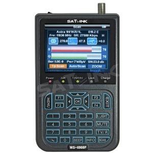 Satlink WS-6908P Professional Sat Messgerät Satfinder DVB-S TV