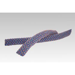 Licardo Zugluftstopper Zugluftrolle Wolle Noppen blau 95 cm
