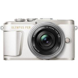 Olympus E-PL9 weiß + 14-42 mm EZ silber