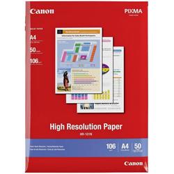 Canon HR-101N Papier hochauflösend A4 210x297mm 106 g/m² - 50 Blatt