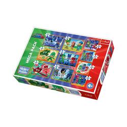 Trefl Puzzle 10in1 Puzzle 20/35/48 Teile - PJ Masks, Puzzleteile