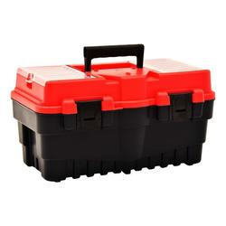 vidaXL Werkzeugkoffer vidaXL Werkzeugkoffer Kunststoff 462 x 256 x 242 mm Rot