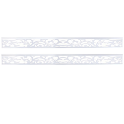 MCW Sichtschutzstreifen Savoie-D, (Set, 2er), Lange Haltbarkeit, Speziell für Sichtschutz Savoie