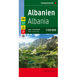 Albanien Top 10 Tips Autokarte 1:150.000