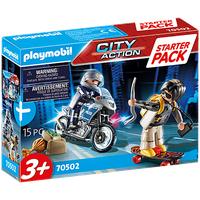 Playmobil City Action Starter Pack Polizei Ergänzungsset 70502