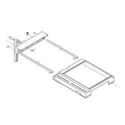 PROXXON 28070-09 Holm Tischverbreiterung für Feinschnitt-Tischkreissäge FKS/E