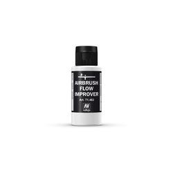Vallejo Bastelnaturmaterial Vallejo 60 ml Airbrush Flow Improver 71.462 Fließverbesserer Airbrush Farbe, (1-tlg)