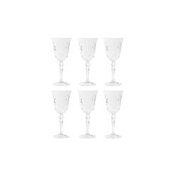 BUTLERS Rotweinglas CRYSTAL CLUB 6x Rotweinglas 270ml, Kristallglas