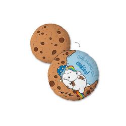 Pummeleinhorn Dekokissen Cookies, mit schlafendem Pummeleinhorn