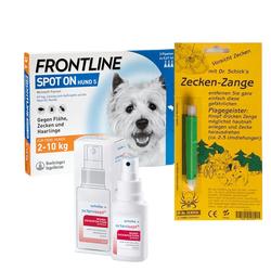 Zecken-Set Hund S (2-10 kg)