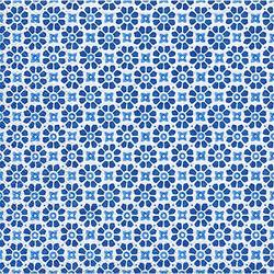 "Papierservietten ""Blaue Blumen"", 33 x 33 cm, 20 Stück"