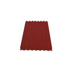 Onduline Wellplatte Onduline Easyline Dachplatte Wandplatte Bitumenwellplatten Wellplatte 2x0,76m² - rot, Wellig, 1.52 m² pro Paket, (2-St)