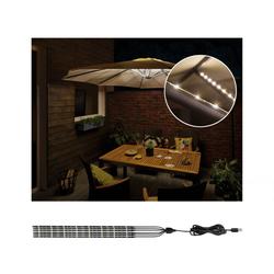 Paulmann 94219 Mobile Strip Parasol-Light Schirmbeleuchtung 6er-Set, 6x27cm