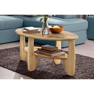 Premium collection by Home affaire Couchtisch, aus Massivholz Wildeiche oder Kernbuche FSC-zertifiziert beige Couchtische rund oval Tische Couchtisch