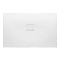 Villeroy & Boch Squaro Infinity Duschwanne Quaryl® 120 x 90 x 4 cm… Grau (matt)