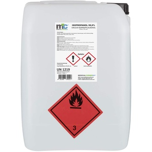 Medicalcorner24® Isopropanol 99,9% Isopropylalkohol 20 Liter Kanister, Alkohol